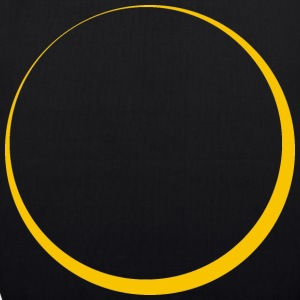 ECLIPSE - Yellow Sun - EarthPositive Tote Bag