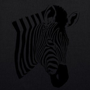 Zebra Pattern 2 - EarthPositive Tote Bag
