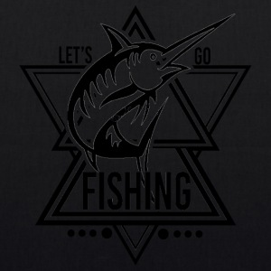 Lets go Fishing - We love Fishing - Bio-Stoffbeutel
