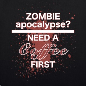 zombie apocalypse - EarthPositive Tote Bag