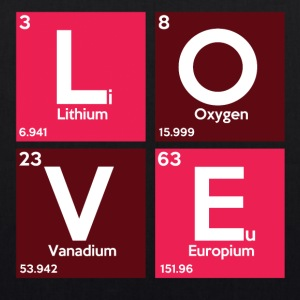 Love is Chemistry - Bio-Stoffbeutel