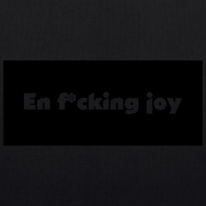 A f * cking joy - EarthPositive Tote Bag