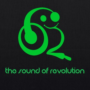 The sound of revolution - Borsa ecologica in tessuto