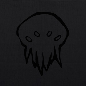 Tiny Cthulhu monster - Øko-stoftaske