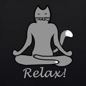 Relax Yoga Cat - EarthPositive Tote Bag