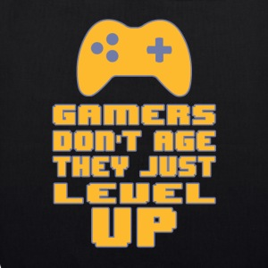 Gamers do not age - EarthPositive Tote Bag