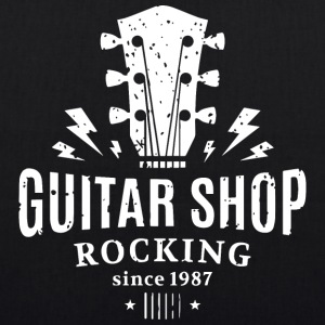 Guitar shop - EarthPositive Tote Bag