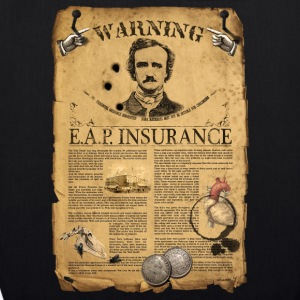 ALLAN POE T-shirts - EarthPositive Tote Bag