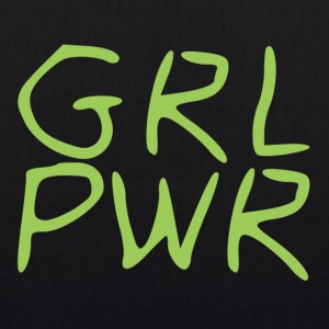 Girl Power - EarthPositive Tote Bag