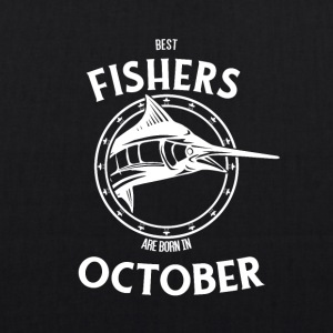 Present for fishers born in October - EarthPositive Tote Bag