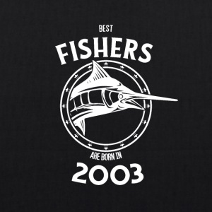 Present for fishers born in 2003 - EarthPositive Tote Bag