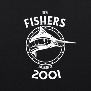 Present for fishers born in 2001 - EarthPositive Tote Bag