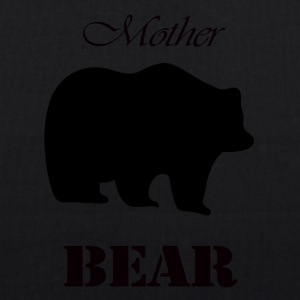 Mother's Day Gift and T-shirt: Mother Bear - EarthPositive Tote Bag
