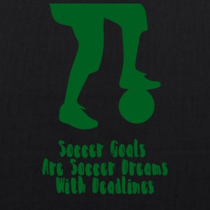 Soccer: Soccer Goals are Soccer Dreams! - EarthPositive Tote Bag