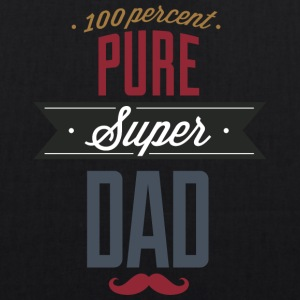 Pure super dad - EarthPositive Tote Bag