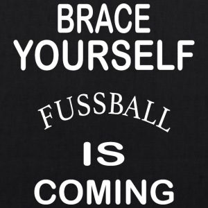 Brace Yourself Football is Coming - White - EarthPositive Tote Bag