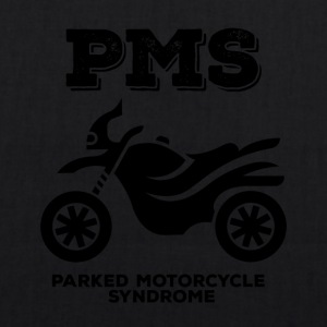 Biker / motorcycle: PMS - Parked Motorcycle Syndrome - EarthPositive Tote Bag