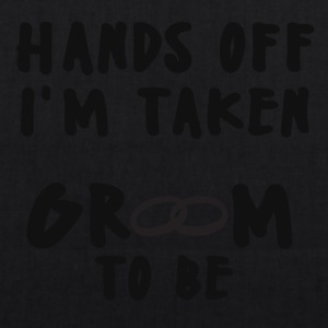 JGA / Bachelor: Hand off I'm Taken.. - EarthPositive Tote Bag