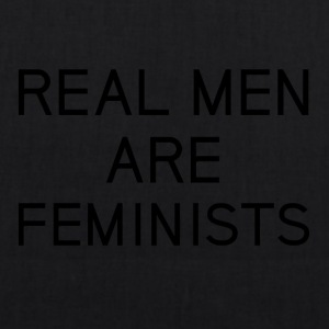 real_men_are_feminists - Bio-Stoffbeutel