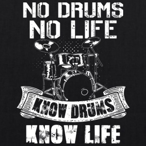 No Drums No Life Know Drums Know Life - EarthPositive Tote Bag