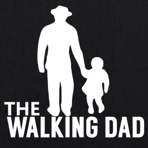 The Walking Dad - Zombie Alarm - - EarthPositive Tote Bag