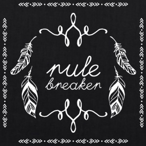 Hippie / Hippies: rule breaker - EarthPositive Tote Bag