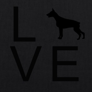 Dog Love 6 - Bio-Stoffbeutel