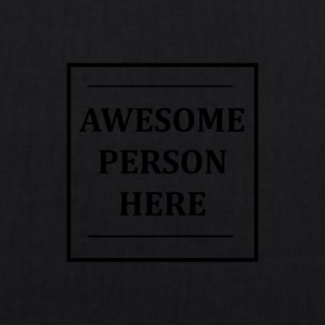 AWESOMEPERSONHERE - Borsa ecologica in tessuto