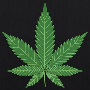 Cannabis leaf - EarthPositive Tote Bag