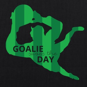 Football: Goalie saves the day - EarthPositive Tote Bag