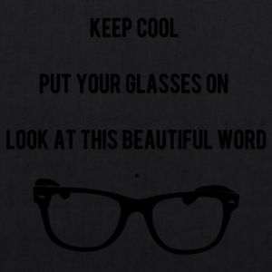 Keep Cool Glasses - Bio stoffen tas