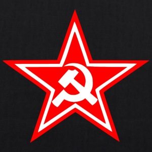 Communist red star flag - EarthPositive Tote Bag