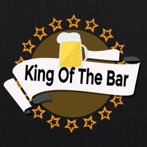 King of the Bar - Bio-Stoffbeutel