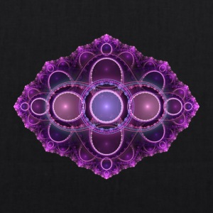 apophysis purple - EarthPositive Tote Bag