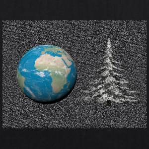 world_christmas3 - Bio-stoffveske