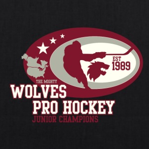 wolves pro hockey 01 - EarthPositive Tote Bag
