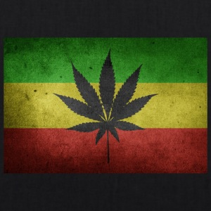 Jamaica Flag and Marijuana - EarthPositive Tote Bag