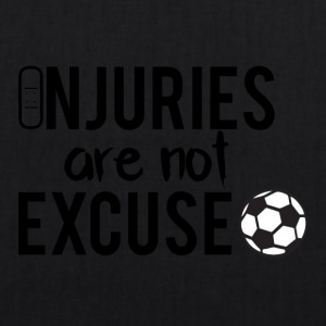 Football: Injuries are not excuse! - EarthPositive Tote Bag