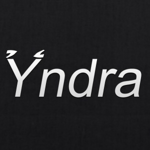 Yndra-Logo'3'-White - EarthPositive Tote Bag