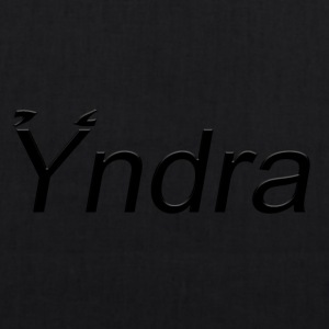 Yndra-Logo'3' Black - EarthPositive Tote Bag