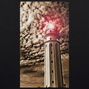 LIGHTHOUSE TRAFALGAR_SEPIA - EarthPositive Tote Bag