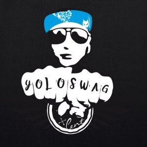 swag yolo fist cool ganster rapping street tatoo gra - EarthPositive Tote Bag