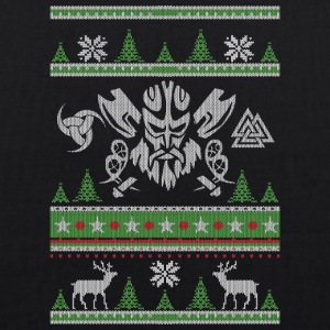 Vikings Ugly Christmas - EarthPositive Tote Bag