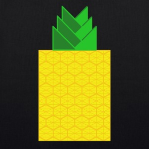 DIGITAL FRUITS - Digitale ANANAS - Digi Pineapple - Bio-Stoffbeutel