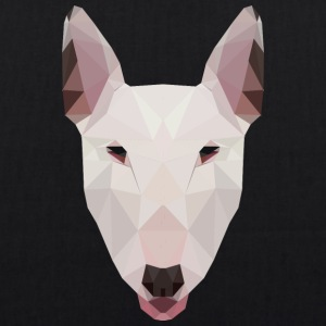 English Bull Terrier Artwork - EarthPositive Tote Bag