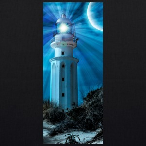 LIGHTHOUSE TRAFALGAR_NOCHE - EarthPositive Tote Bag