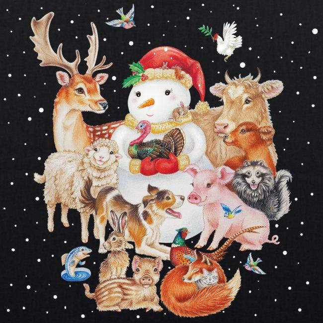 winter animals tas