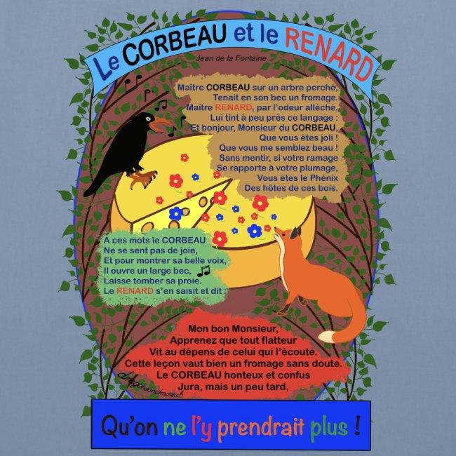 Le Corbeau et le Renard (Jean de la Fontaine)