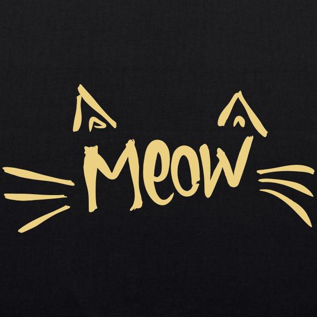 Vorschau: meow2 - Bio-Stoffbeutel