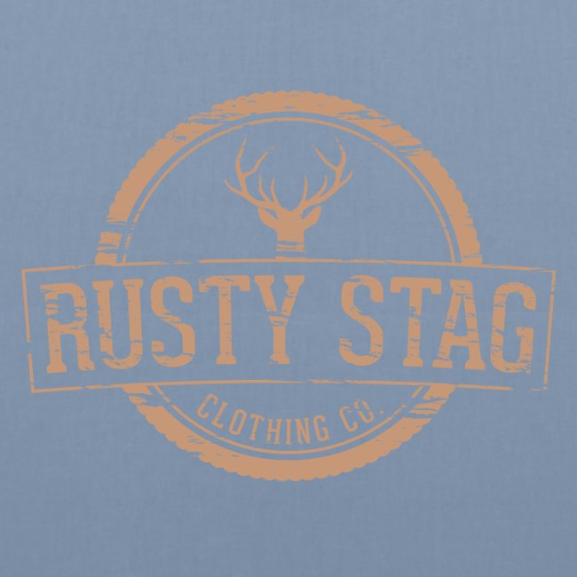 Rusty Stag Weathered Crest